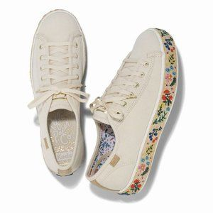 Keds x Rifle Paper Co Triple Kick Rosalie Sneakers